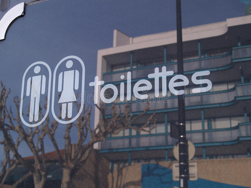 Download Automatic toilets stock photo. Image of note, entrance - 31720772