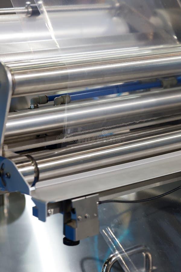 Free Automatic Tray Sealer Royalty Free Stock Image - 46090506