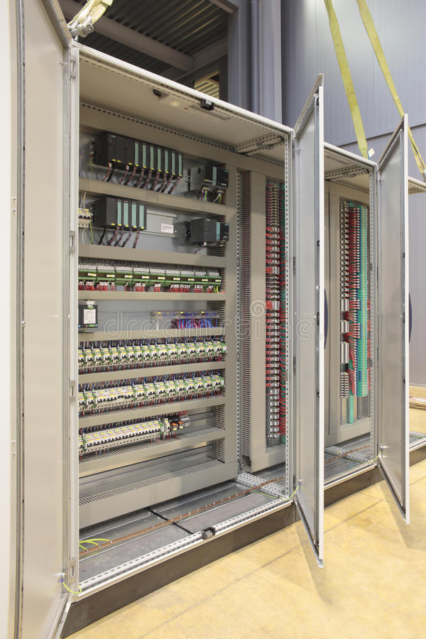 Automation atex panel board stock images