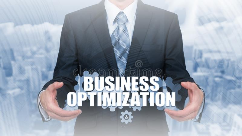Automation modernization integration business concept. Gear cogwheel arrow industrial sign. Integrated tech upgrade smart device s royalty free stock photography