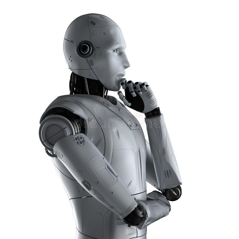 Automationanalysteknologi royaltyfri illustrationer