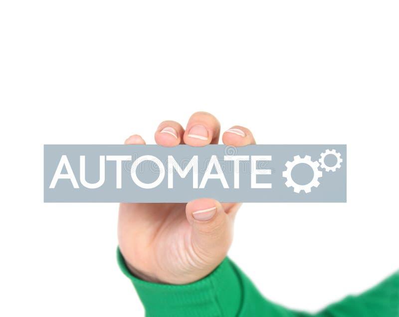 Automatisation des processus d'affaires photos stock