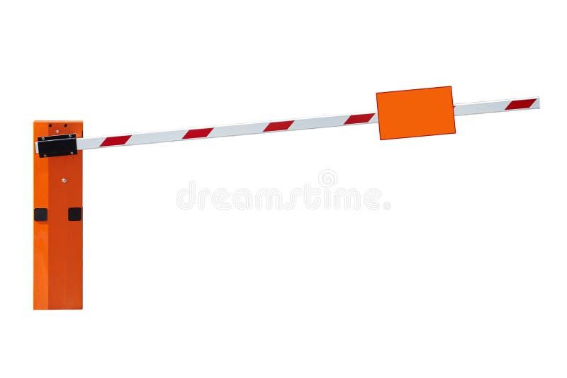 Automatische Sperre auf weißem Hintergrund stockbilder