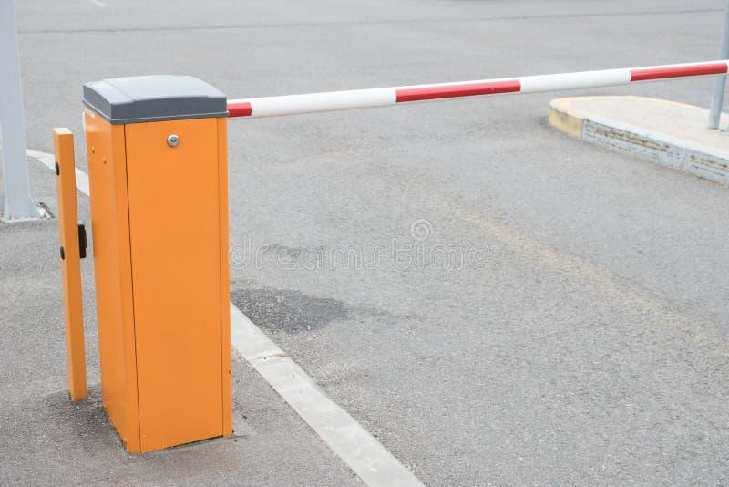 Automatische Sperre im Parken stockfotografie