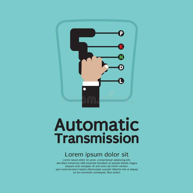Automatische Transmissie. vector illustratie