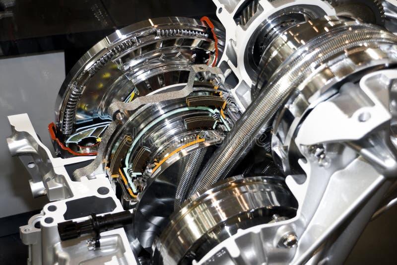 Automatische versnellingsbak royalty-vrije stock afbeelding