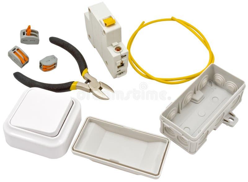 Download Automatischer Leistungsschalter Und Werkzeuge Stockbild - Bild von verteilung, automatisierung: 90228559