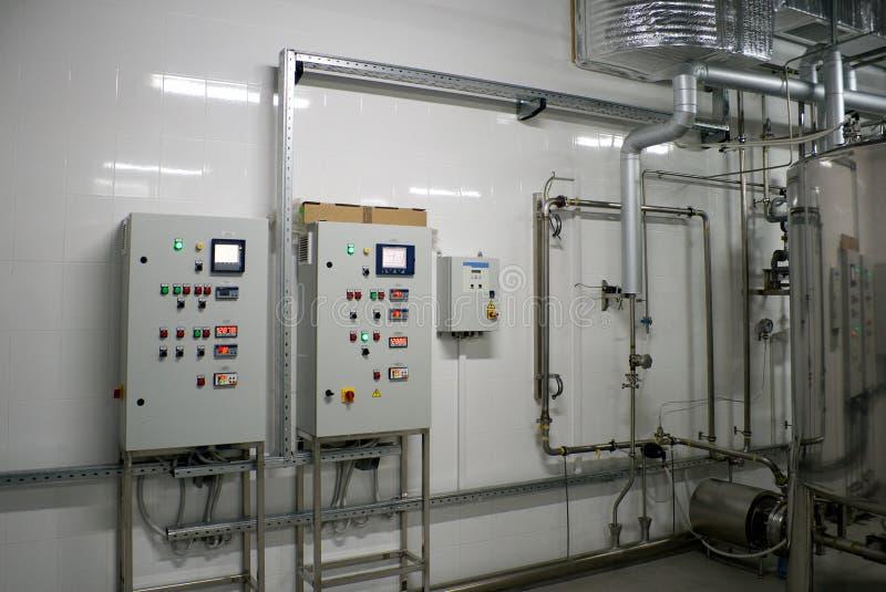 Automatisches Wasserfiltrationsystem stockbild