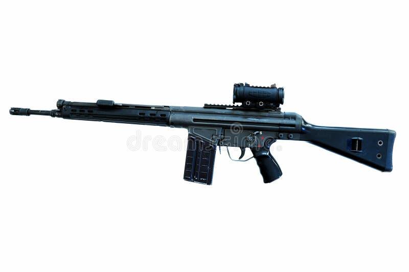 automatisk carbine royaltyfri fotografi