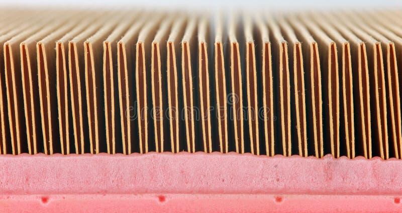 Automatisk detalj för luftfilter royaltyfri bild