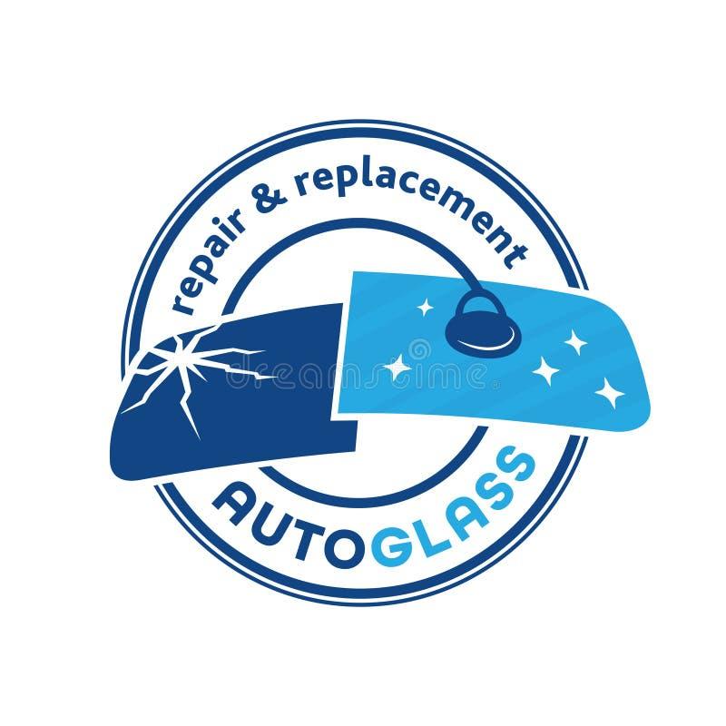 Automatisk Exponeringsglas Företag logo Vektor och illustration royaltyfri illustrationer