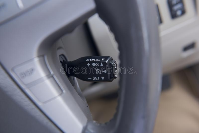 Automatisk gaspedalströmbrytare arkivfoton