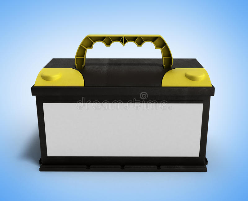 Automatiskn för bilen för batteribatteriackumulatorn särar elektrisk tillförsel royaltyfri illustrationer