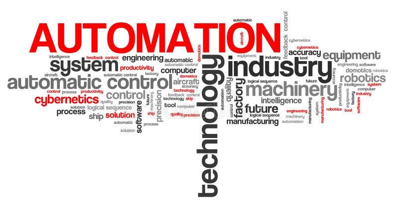 automatización stock de ilustración