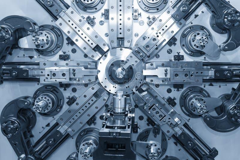 Automatyczna druciana chylenie maszyna fotografia stock