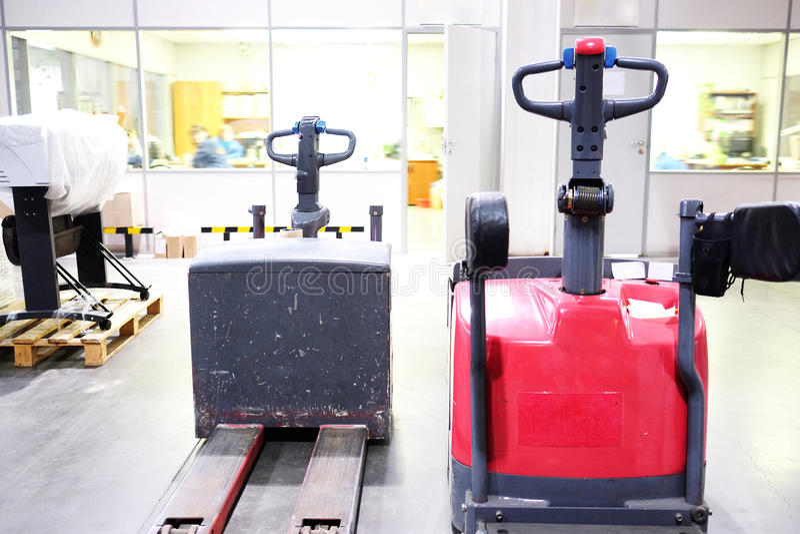 Automatyczny ładowacz obrazy stock