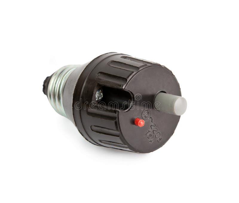 automatyczny elektryczny lont fotografia stock