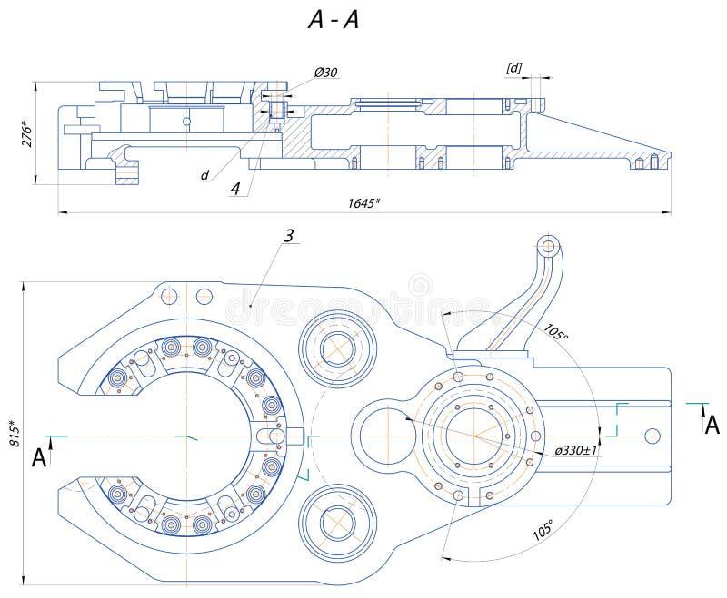 Automatyczny kluczowy musztrowanie ilustracji