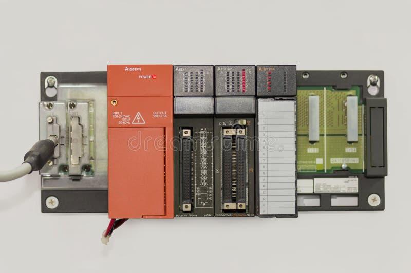 Automatyczny Programmable logika kontrolera PLC dużej precyzji wyposażenie dla przemysłowego zdjęcie royalty free