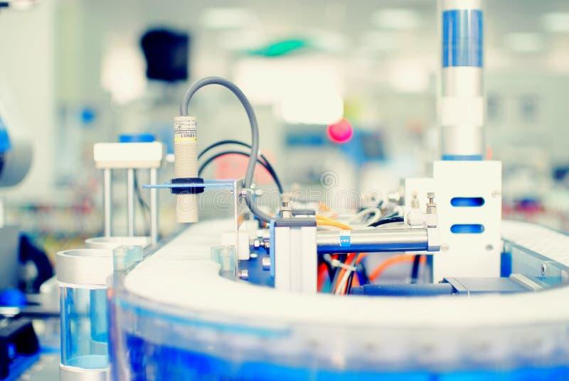 automatyzaci fabryki czujnik zdjęcie royalty free