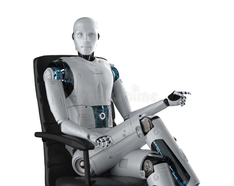 Automatyzacja pracownika poj?cie royalty ilustracja