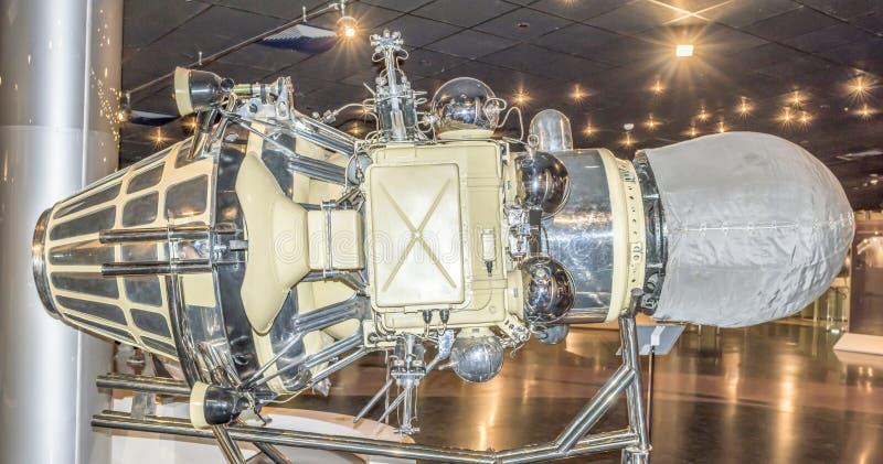 Automatyzująca Luna-9 stacja obraz royalty free