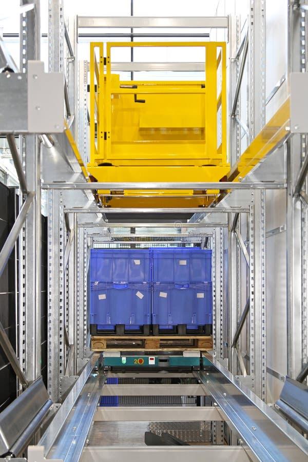 Automatyzujący barłogu transport zdjęcia stock