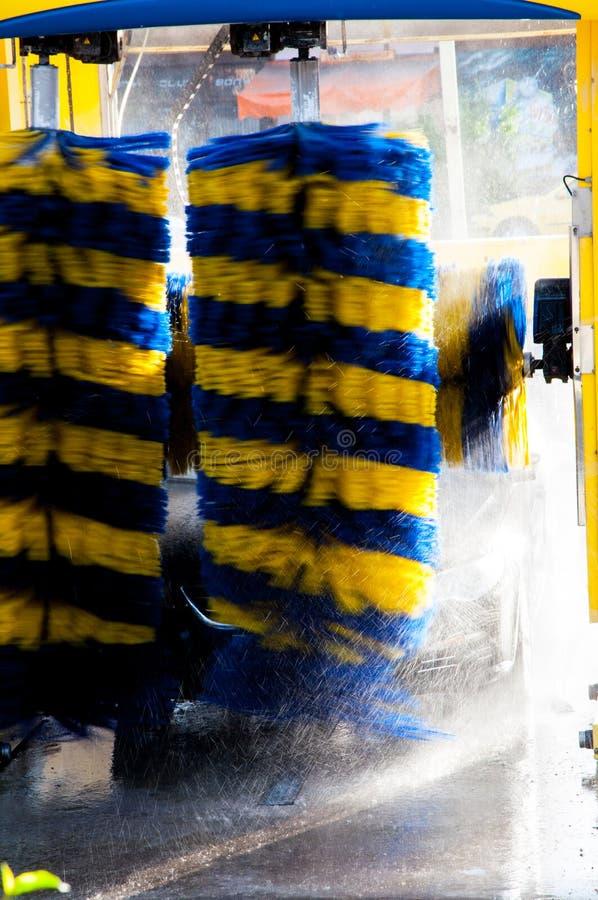 Automatyzujący carwash zdjęcia stock