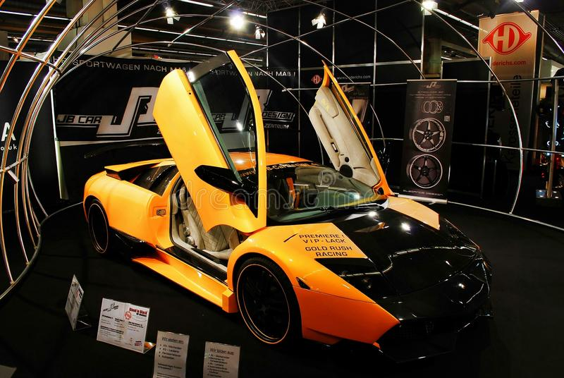 Automechanika 2014年法兰克福-法兰克福国际贸易公平为汽车制造业 库存照片
