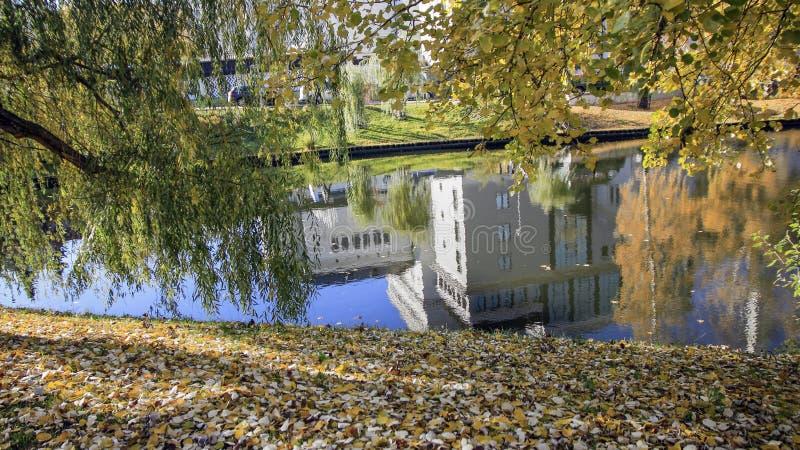 Automne à Riga photos stock