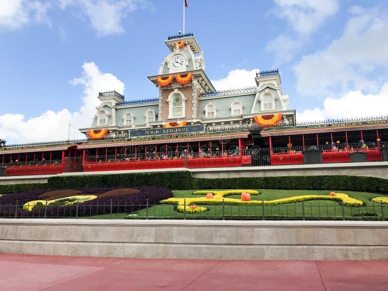 Automne au royaume magique, Walt Disney World photographie stock