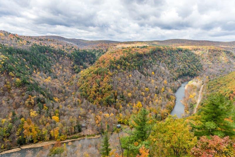 """Automne chez """"Grand Canyon """"de la Pennsylvanie photographie stock libre de droits"""