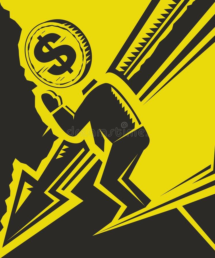 Automne d'économie illustration stock