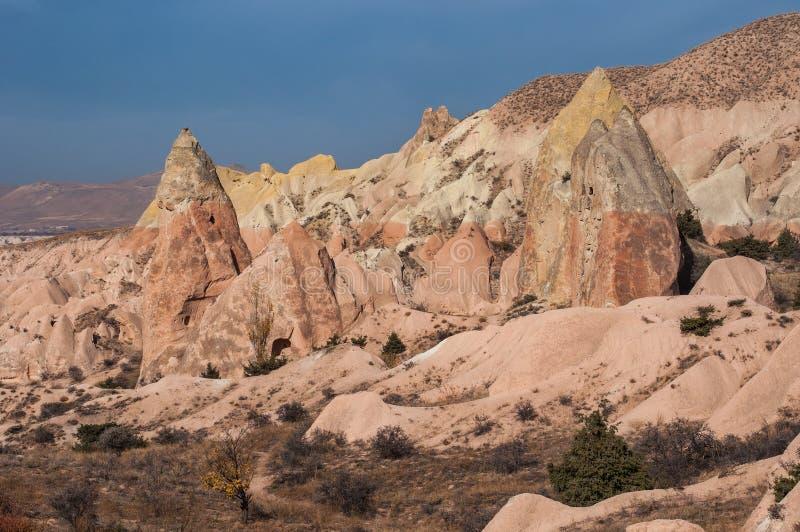 Automne d'or dans Cappadocia La Turquie photographie stock libre de droits
