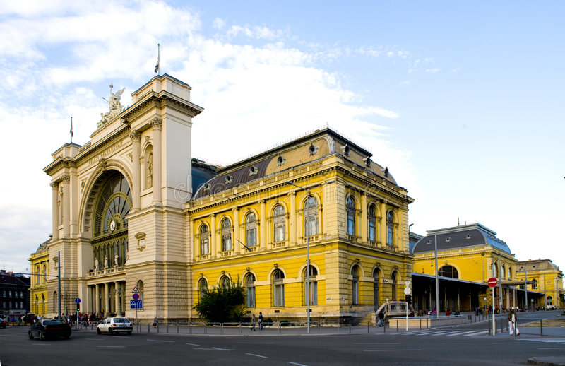 Automne de Budapest image stock