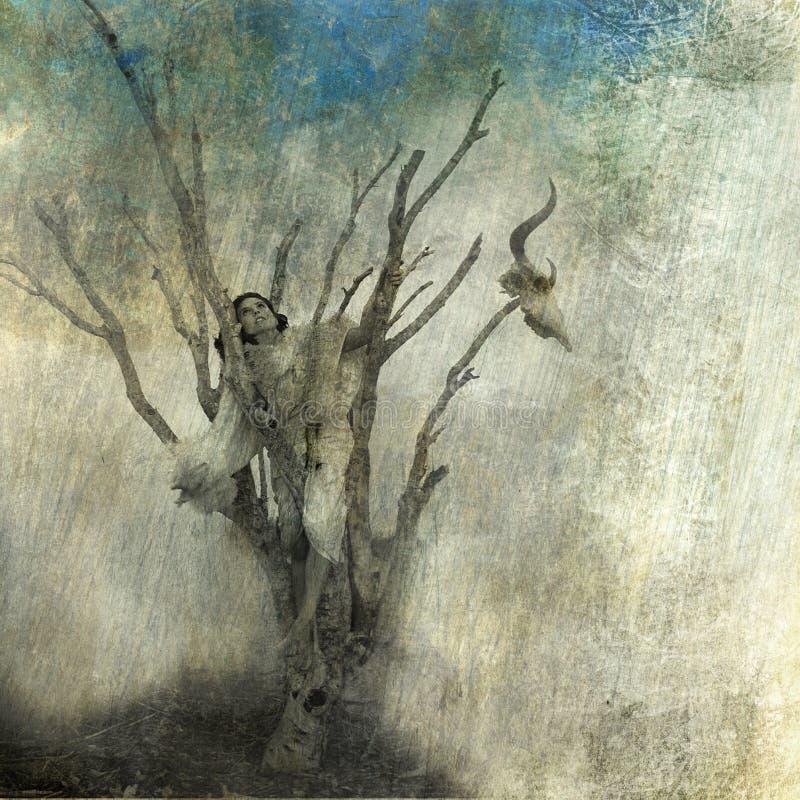 Automne de grace illustration stock