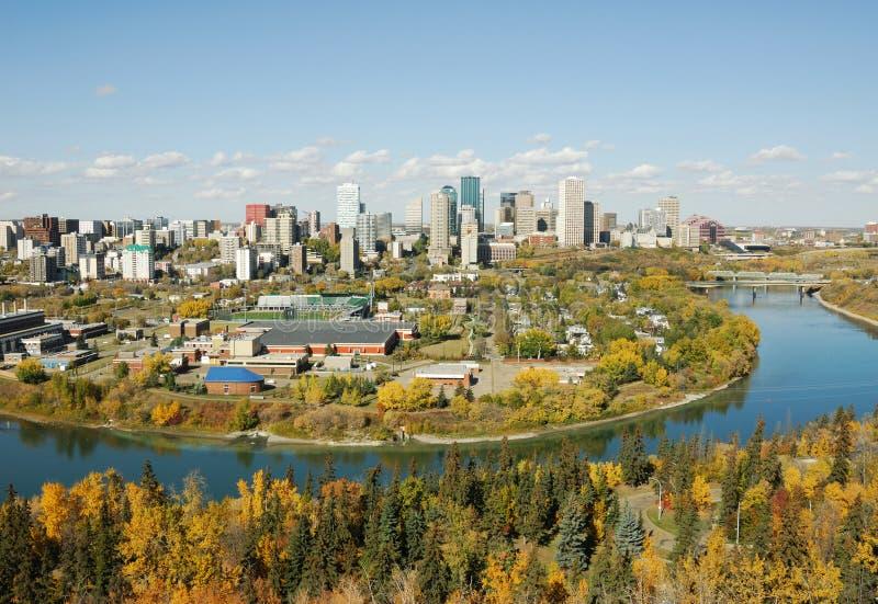 Automne Edmonton images stock