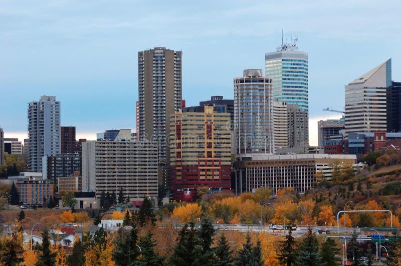 Automne Edmonton images libres de droits