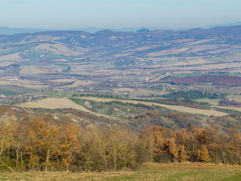 Automne en Toscane images stock