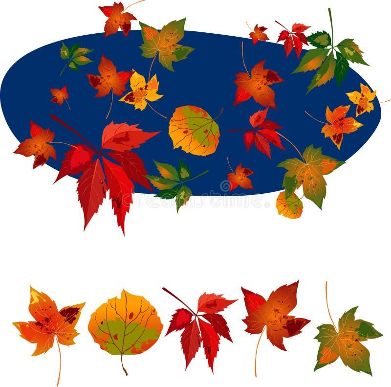 Automne leaves1 illustration stock