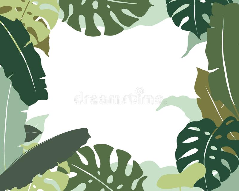 Automne tropics2 illustration stock