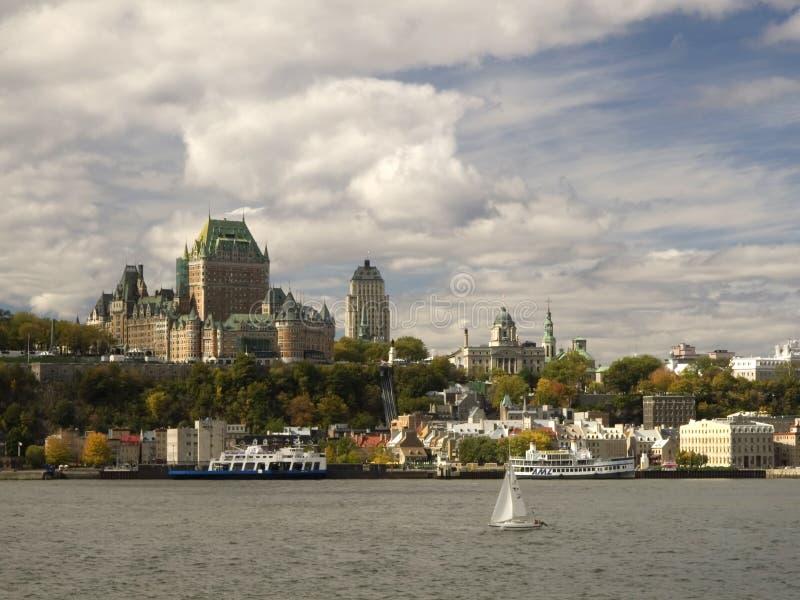 Automne vieux Québec photo libre de droits