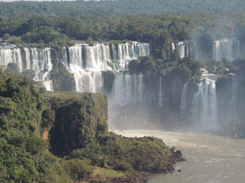 Automnes d'Iguaçu image libre de droits