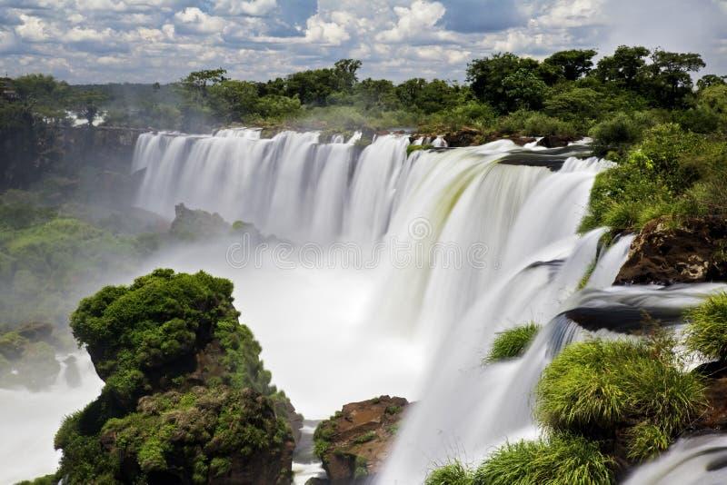 Automnes d'Iguassu photographie stock libre de droits