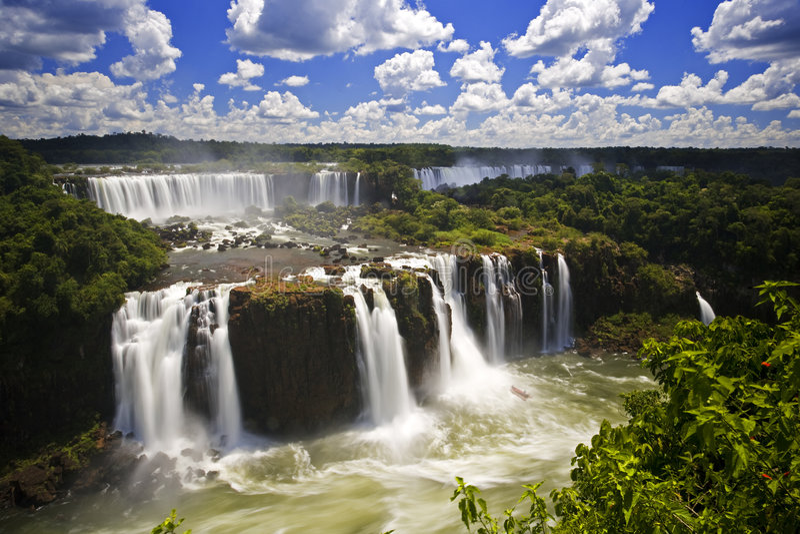 Automnes d'Iguassu photos libres de droits