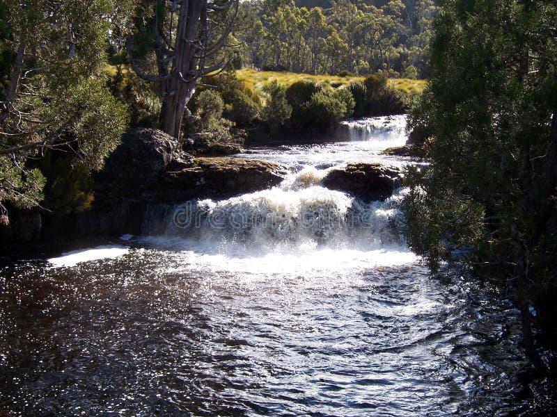 Automnes de fleuve photo stock
