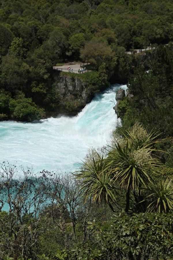 Automnes de Huka, Nouvelle-Zélande photo stock