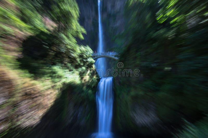 Automnes de Multinomah photo stock