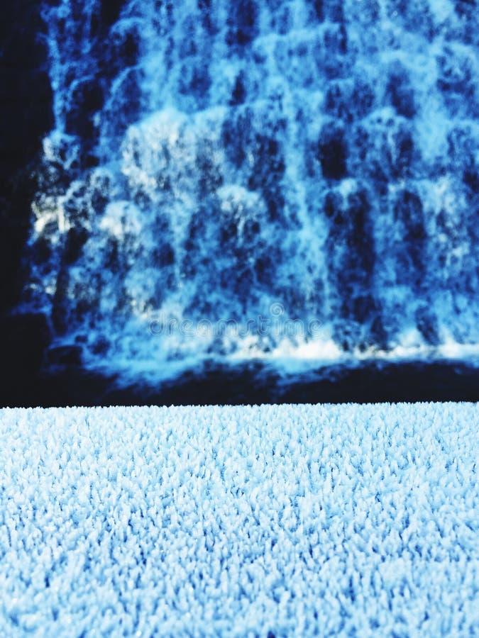 Automnes glacials photo libre de droits