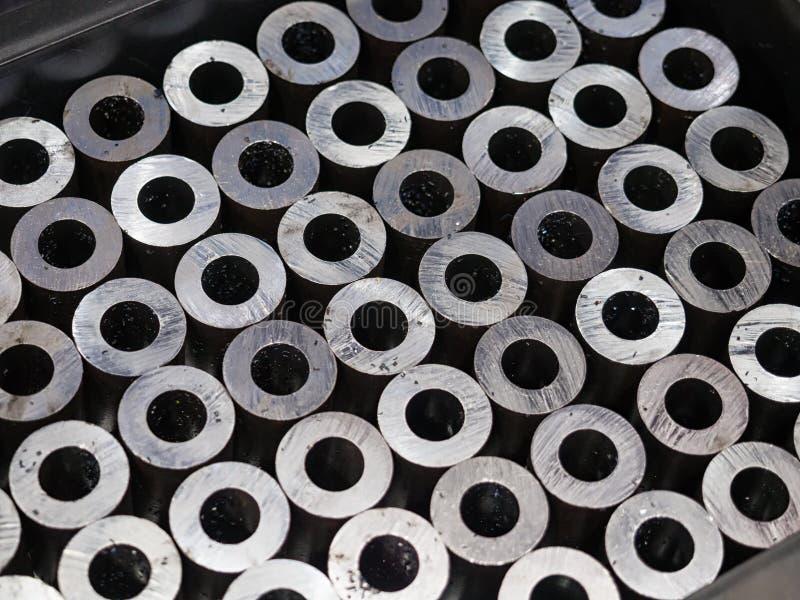Automobiel het deel van het hoge precisiestaal productie door CNC machin royalty-vrije stock fotografie